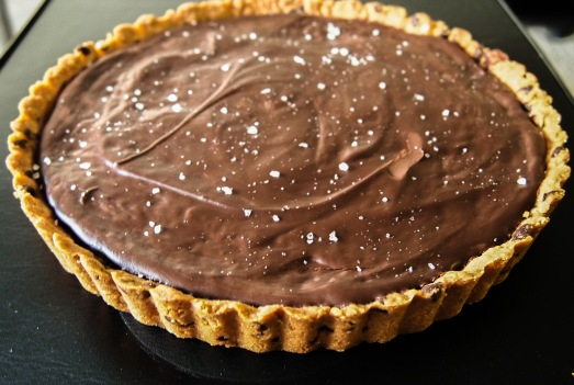 Chocolate Caramel Tart 3