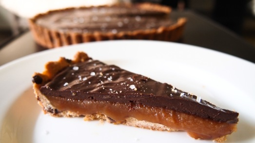 Chocolate Caramel Tart 2
